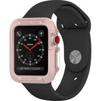 Capa Protetora Spigen Rugged Armor Para Apple Watch 42Mm Rosa