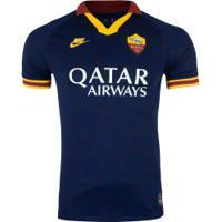 Camisa Roma Iii 19/20 Nike - Masculina - Azul Escuro