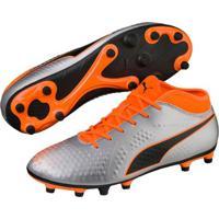 47a4b50ffb Netshoes; Chuteira Campo Puma One 4 Syn Fg Bdp - Unissex