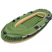 Barco Inflável Fishman 400 Com Remo - Mor