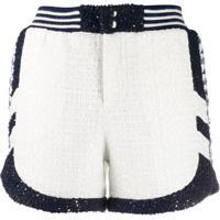 Faith Connexion Textured Woven Sports Shorts - Branco