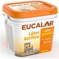Tinta Acrílica 3,6 Litros Perola - Eucalar - Eucatex