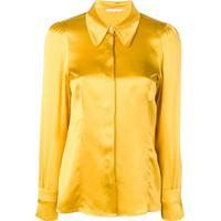 L'Autre Chose Blusa De Cetim - Amarelo