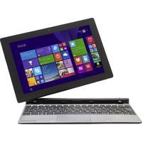 "Notebook 2 Em 1 Positivo Zx3020 - Quad Core - Ram 1Gb - Ssd 16Gb - Tela 10.1"" - Windows 8.1"