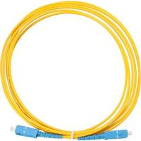 Cabo Optico Para Ethernet- Amarelo & Azul- 500Cmnewex