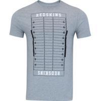 Camiseta New Era Washington Redskins Versatile Nfv - Masculina - Cinza