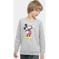 Casaco Infantil Disney Mickey Mouse Masculino - Masculino