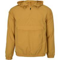Blusão Com Capuz Oxer Anorak - Masculino - Amarelo