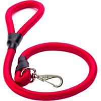 Guia Corda Roliça Grossa Mais Dog Vermelho 0,60M Com 1 Unidade