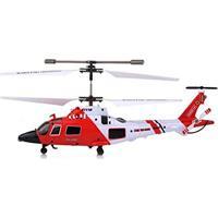 Helicoptero Controle Remoto Falcao 3 Canais Giratorio Luz Lithium Dupla Proteção