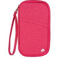 Porta Documentos De Viagem, Pink - Stradda