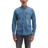 Camisa Jeans Levis Barstow Western - M