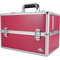 Maleta Profissional De Maquiagem Jacki Design Maletas Pink