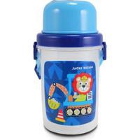 Squeeze 450Ml Infantil Jacki Design Masculino - Masculino-Azul