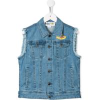 Stella Mccartney Kids Colete Jeans All Together Now - Azul