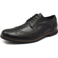 Sapato Social Oxford Shoes Grand Itália Preto Tamanho Grande