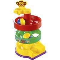 Brinquedo Educativo Rola Bola Musical Dismat Mk250 - Unissex-Amarelo