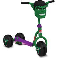 Patinete Hulk Clássico Bandeirante Verde