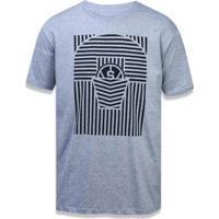 Camiseta San Antonio Spurs Nba New Era Masculina - Masculino-Mescla Claro