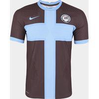 Camisa Corinthians Iii 20/21 S/N° Jogador Nike Masculina - Masculino-Marrom+Azul