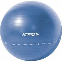Bola De Ginástica Premium 65Cm Diagrama De Exercício Material Pvc Azul Atrio - Es216 Es216