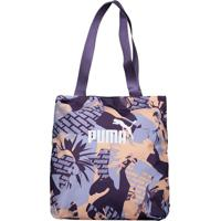 Bolsa Puma Core Shopper Estampada Roxa