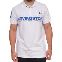 Polo Kevingston Division Rugby Polo Manga Curta De Piquet De Algodao