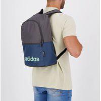 Mochila Adidas Linear Classic Daily Grafite E Azul