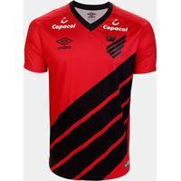Camisa Athletico Paranaense I 19/20 S/Nº Jogador Umbro Masculina - Masculino