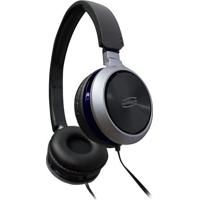 Headset Premium- Preto & Azul Marinho- 10X16Cm- Newex