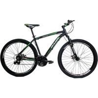 Bicicleta 29 Rino - Shimano Altus - Susp Trava- Freio A Disco Hidraulico 24 Marchas - Unissex