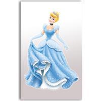 Adesivo De Parede 40X25 Princesas Gedex Amarelo/Azul