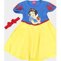 Camisola Infantil Lupo Disney Branca De Neve - Feminino