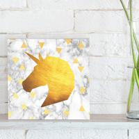 Quadro - Gold Unicorn