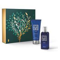 Kit Presente Egeo Blue: Desodorante Colônia 50Ml + Shower Gel 100G