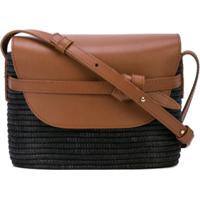 Cesta Collective Contrast Crossbody Bag - Marrom