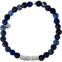Tateossian Pulseira De Prata - Azul