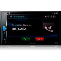 Avh-A208Bt, Pioneer, Dvd Automotivo, Preto