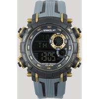 Relógio Digital Speedo Masculino - 80596G0Evnp3 Preto - Único