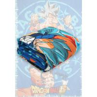 Colcha Solteiro Lepper Matelassê Dragon Ball 1,50 M X 2,10 M