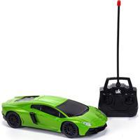 Carrinho Com Controle Remoto Unik Toys Verde