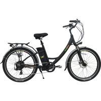Bicicleta Elétrica Biobike, Quadro Em Alumínio, Modelo Style - Preta