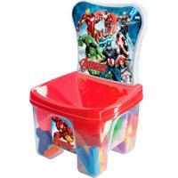 Cadeira Educakids Avengers Com Peças Educativas 2386 Líder