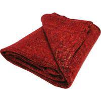 Manta Texturizada- Vermelha & Amarela- 125X150Cmniazitex