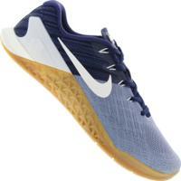 Tênis Nike Metcon 3 - Masculino - Cinza/Azul Esc
