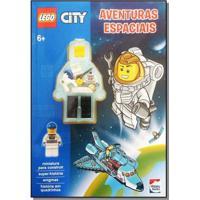 Livro Infantil - Lego City - Aventuras Espaciais - Happy Books