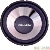 "Subwoofer - Roadstar - Superbass 15"" - 350 Watts - 4 Ohms - Cada (Unidade) - Rs-1534Br"