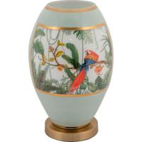 Vaso Decorativo De Cristal E Bronze Ii - Linha Botanique