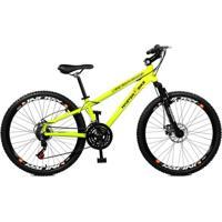 Bicicleta Master Bike Aro 26 Free Rider Freio À Disco A-36 21 V - Unissex