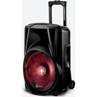 Caixa De Som Lenoxx Ca340, 280W, Bluetooth, Usb, Bateria Interna, Karaokê - Bivolt